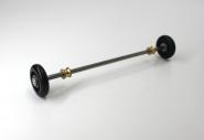 Rollachse für Schlittenrollsitz 21 cm