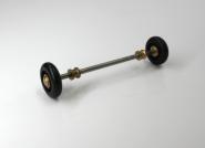 Rollachse für Schlittenrollsitz 17 cm