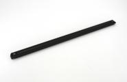 Rollschiene 82,5cm alu eloxiert schwarz