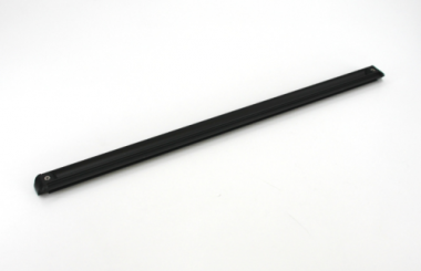 Rollschiene 85cm alu eloxiert schwarz