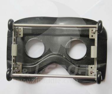 Kugellagerrollsitz Carbon höhenverstellbar 18 cm