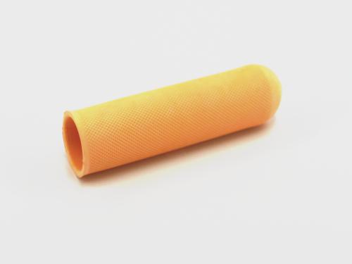 Schröder Gummigriff gelb geriffelt